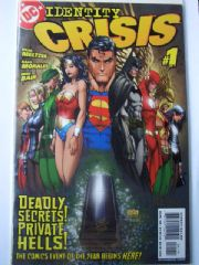 Identity Crisis #1 Dynamic Forces DF Signed Michael Bair COA Ltd 399